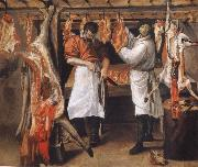 the butcher store