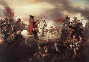 Benjamin West The Battle of the Boyne oil painting reproduction