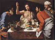 CAVAROZZI, Bartolomeo The meal in Emmaus oil painting