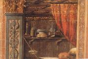 Carlo Crivelli Vekundigung at the Maria oil painting reproduction