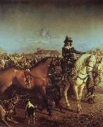 Carlo Pittara The festival of Saluzzo in that 17. century oil painting reproduction