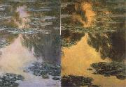Claude Monet Water Lilies oil painting reproduction