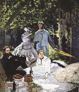 Claude Monet Luncheon on the Grass oil painting reproduction