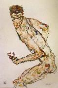 Egon Schiele Fighter oil painting reproduction
