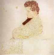 Egon Schiele Portrait of the composer Lowenstein oil painting reproduction