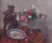 Still life with Tonkinese Warrior
