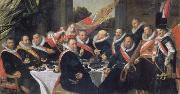 Festmabl of the officers of the St. Jorisdoelen in Haarlem