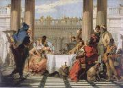 Giambattista Tiepolo The banquet of the Kleopatra oil painting reproduction