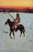 Indian Returning from the Hunt