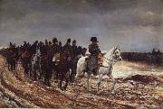 Napoleon on the expedition of 1814