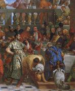 Paolo  Veronese The wedding to canons oil painting reproduction