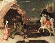 UCCELLO, Paolo Saint Goran and kite oil painting reproduction