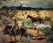 Walter Ufer The Southwest oil painting