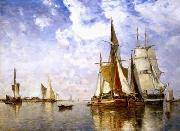 unknow artist Seascape, boats, ships and warships. 19