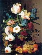 unknow artist Floral, beautiful classical still life of flowers.132