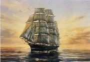 unknow artist Seascape, boats, ships and warships. 110