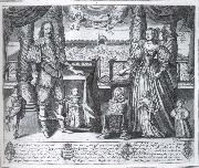 Charles i and Henrietta Maria and their children