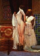 unknow artist Arab or Arabic people and life. Orientalism oil paintings  482