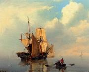 unknow artist Seascape, boats, ships and warships. 120
