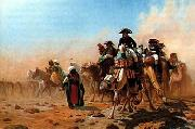 Arab or Arabic people and life. Orientalism oil paintings  458