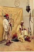 Arab or Arabic people and life. Orientalism oil paintings  398