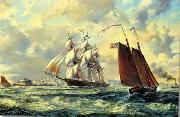 unknow artist Seascape, boats, ships and warships. 53