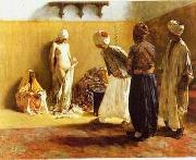 unknow artist Arab or Arabic people and life. Orientalism oil paintings  346
