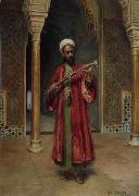 Arab or Arabic people and life. Orientalism oil paintings  421