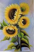 unknow artist Still life floral, all kinds of reality flowers oil painting  99