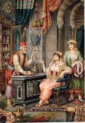 Arab or Arabic people and life. Orientalism oil paintings  400