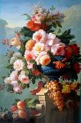 unknow artist Floral, beautiful classical still life of flowers.122
