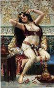 Arab or Arabic people and life. Orientalism oil paintings  387