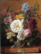 unknow artist Floral, beautiful classical still life of flowers.138