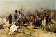 Arab or Arabic people and life. Orientalism oil paintings  383