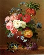 unknow artist Floral, beautiful classical still life of flowers.089