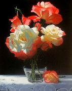 unknow artist Still life floral, all kinds of reality flowers oil painting  53