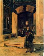 Arab or Arabic people and life. Orientalism oil paintings  404