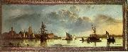 Aelbert Cuyp View on the Maas at Dordrecht oil painting reproduction