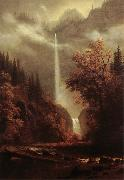 Albert Bierstadt Multnomah Falls oil painting reproduction