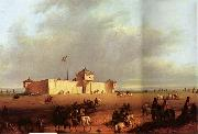 Alfred Jacob Miller Fort William on the Laramie oil painting reproduction