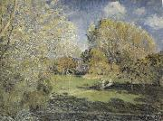 Alfred Sisley The Park oil painting reproduction