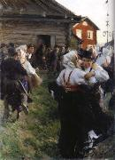 Anders Zorn Gaslisa oil painting reproduction