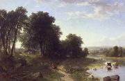 Asher Brown Durand Strawberrying oil painting artist
