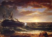 Asher Brown Durand The Stranded Ship oil painting reproduction