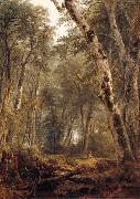 Asher Brown Durand Study Woodland interior oil painting reproduction