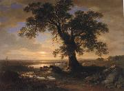 Asher Brown Durand The Solitary oak oil painting reproduction