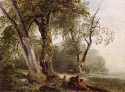 Landscape with Beech Tree