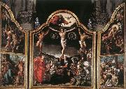 Bernaert Van Orley Altarpiece of Calvary oil painting reproduction