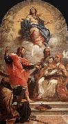 Carlo Maratti Assumption and the Doctors of the Church oil painting reproduction