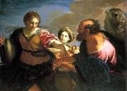 Carlo Maratti Rebecca and Eliezer at the Well oil painting reproduction